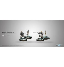 Corvus Belli Atalanta, Agêma's NCO & Spotbot