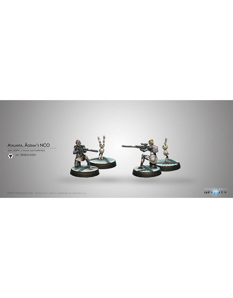 Corvus Belli Aleph Atalanta, Agema's NCO & Spotbot Blister Pack