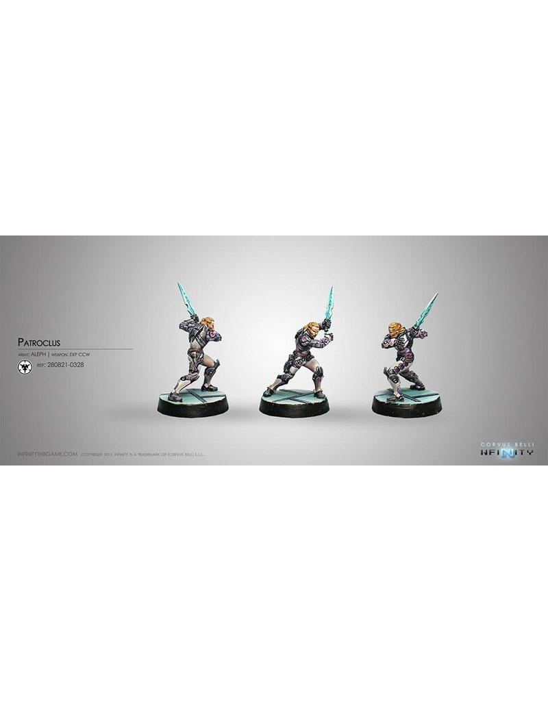 Corvus Belli Aleph Patroclus (EXP CW, Smoke Grenades) Blister Pack