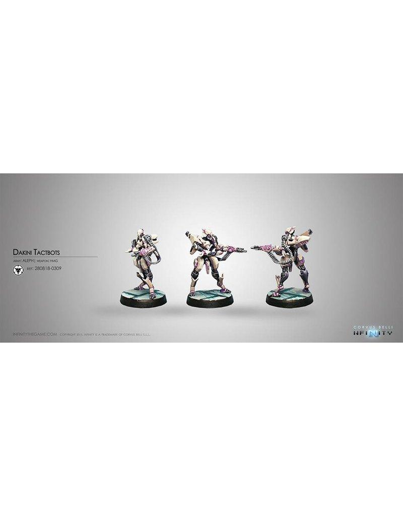 Corvus Belli Aleph Dakini Tactbots (HMG) Blister Pack