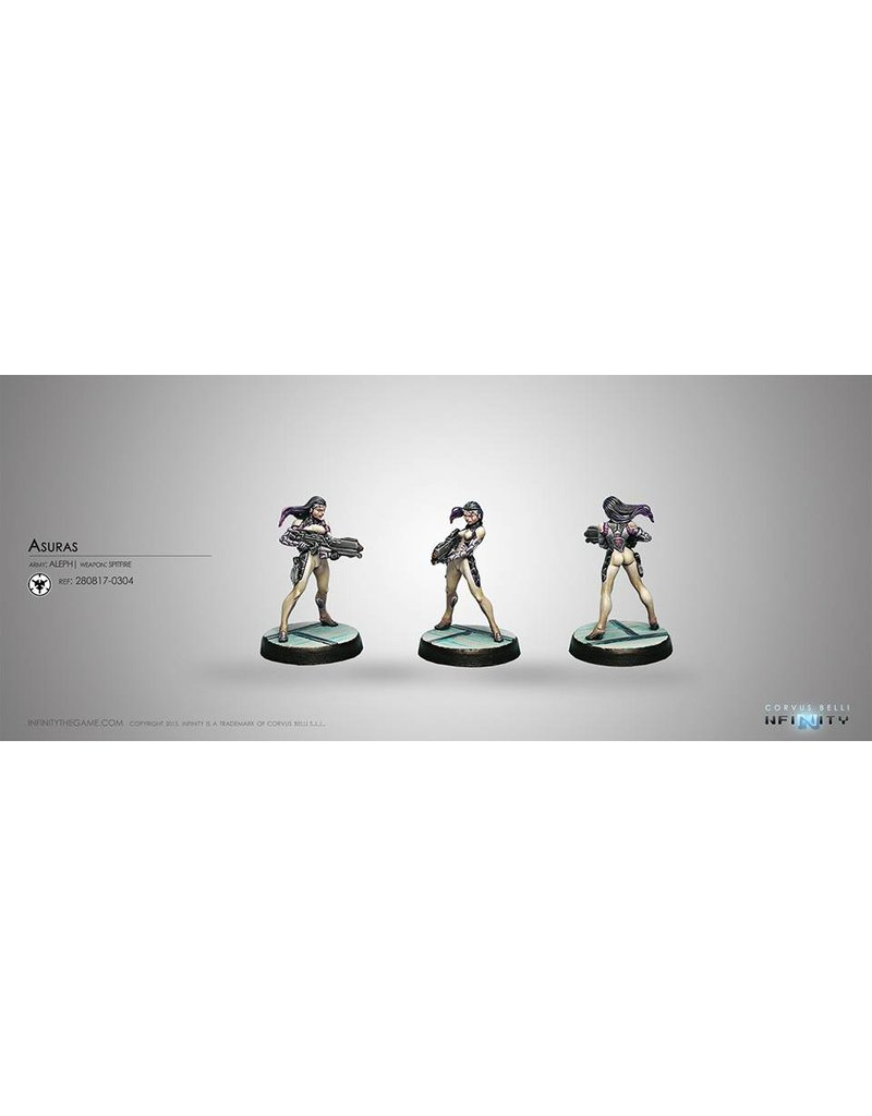 Corvus Belli Aleph Asuras (Spitfire) Blister Pack