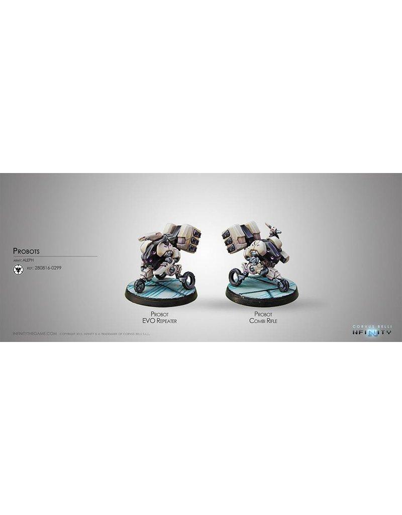 Corvus Belli Aleph Probots (EVO Repeater, Combi Rifle) Blister Pack