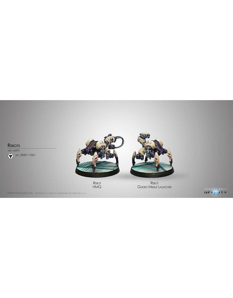 Corvus Belli Aleph Rebots (REM) Blister Pack