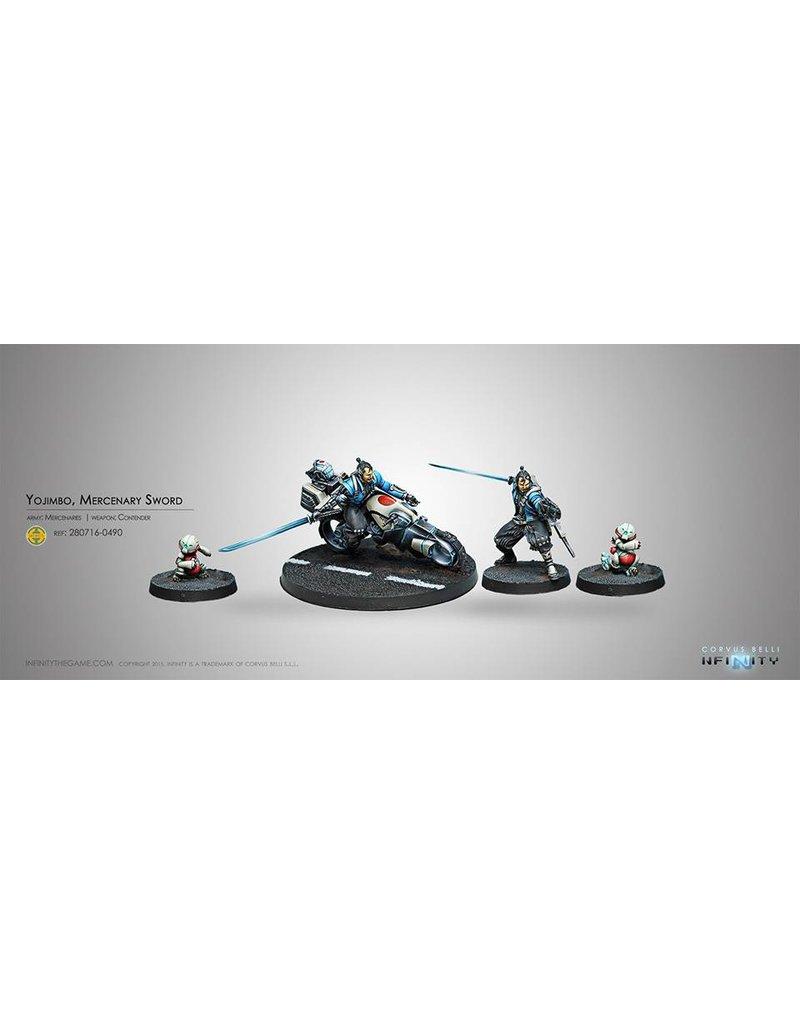 Corvus Belli Mercenaries Yojimbo, Mercenary Sword Box Set