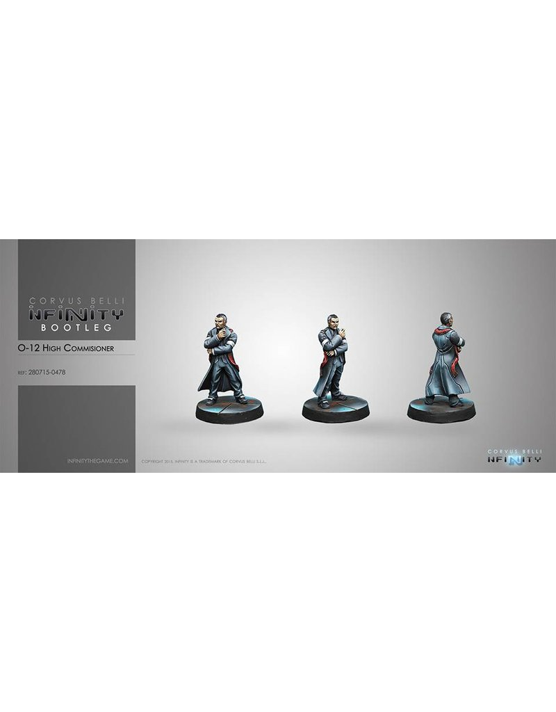 Corvus Belli Mercenaries O-12 High Commissioner (HVT/ Civil) Blister Pack