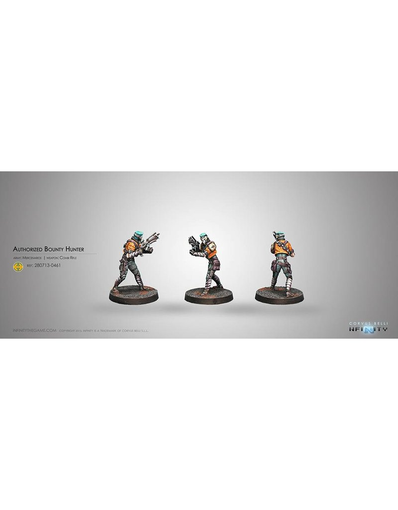 Corvus Belli Mercenaries Authorized Bounty Hunter (Combi Rifle) Blister Pack