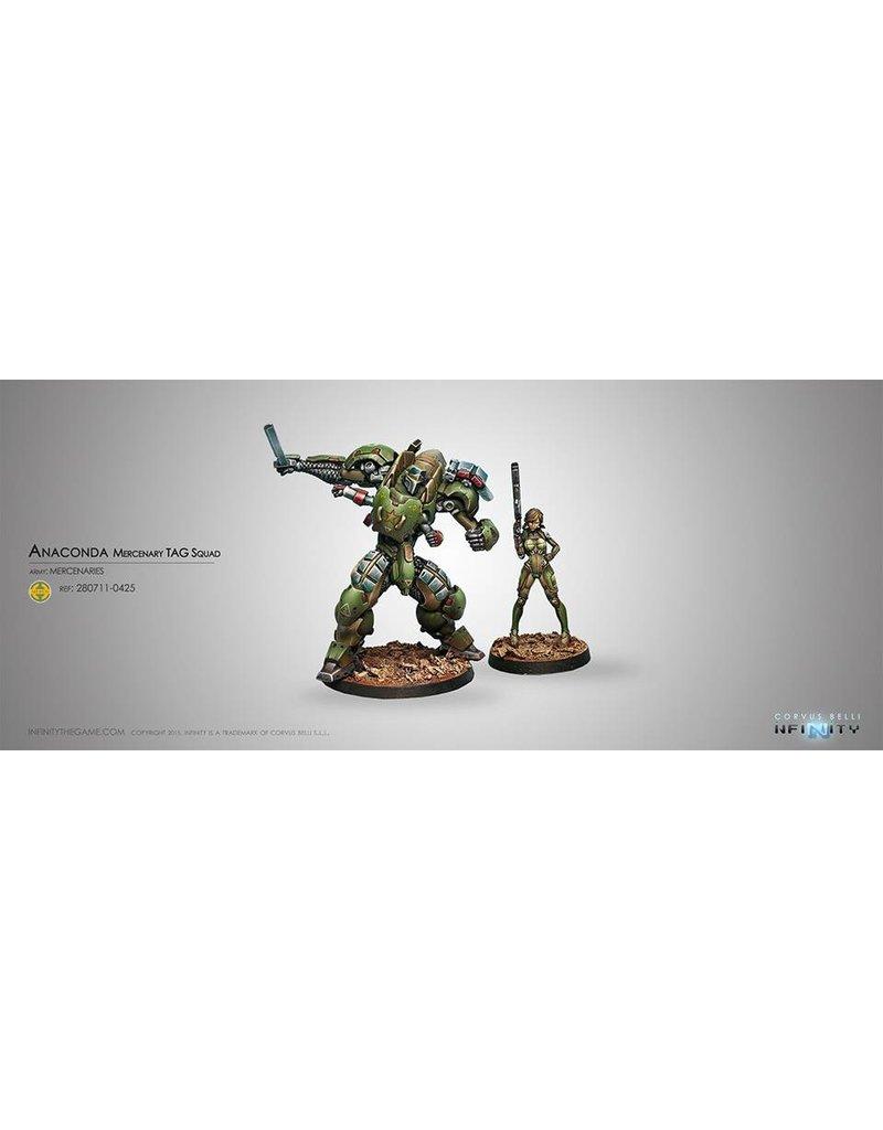 Corvus Belli Mercenaries Anaconda, Mercenary TAG Squadron Box Set