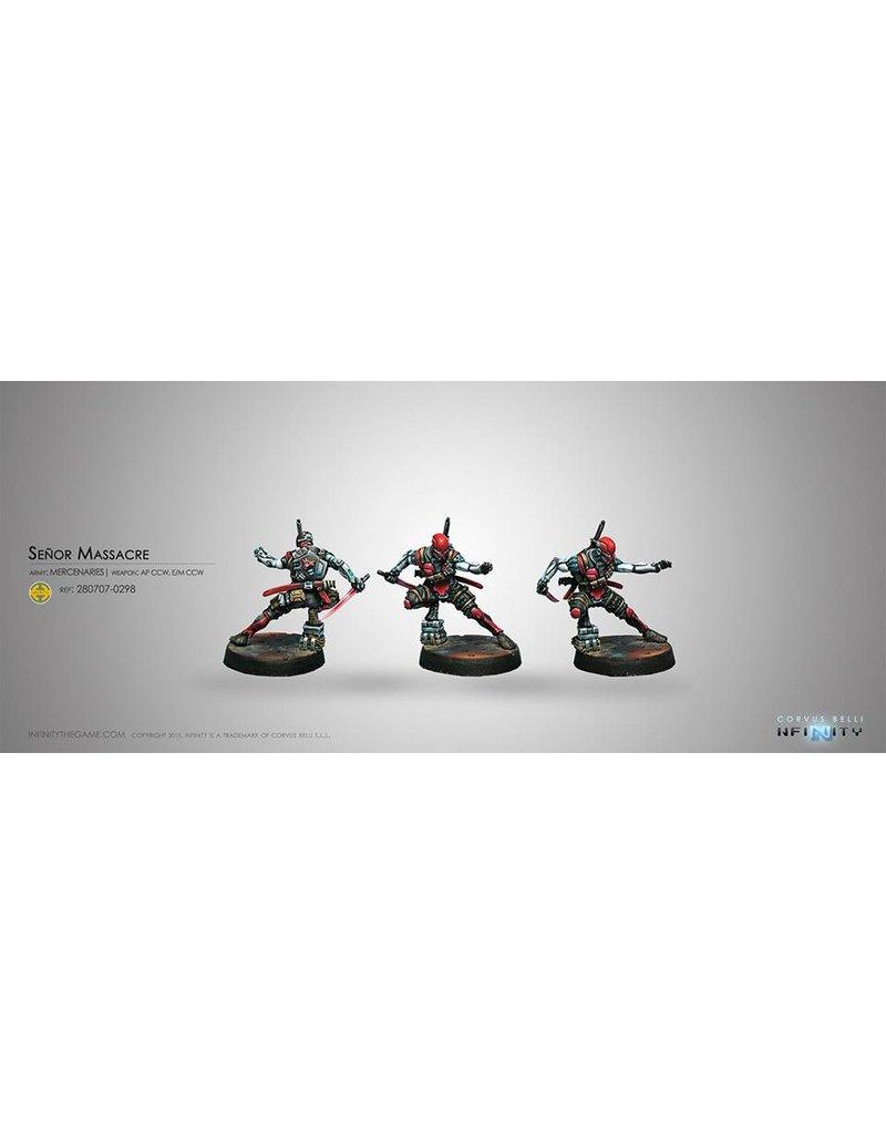 Corvus Belli Mercenaries Senor Massacre (AP CCW, E/M CCW) Blister Pack