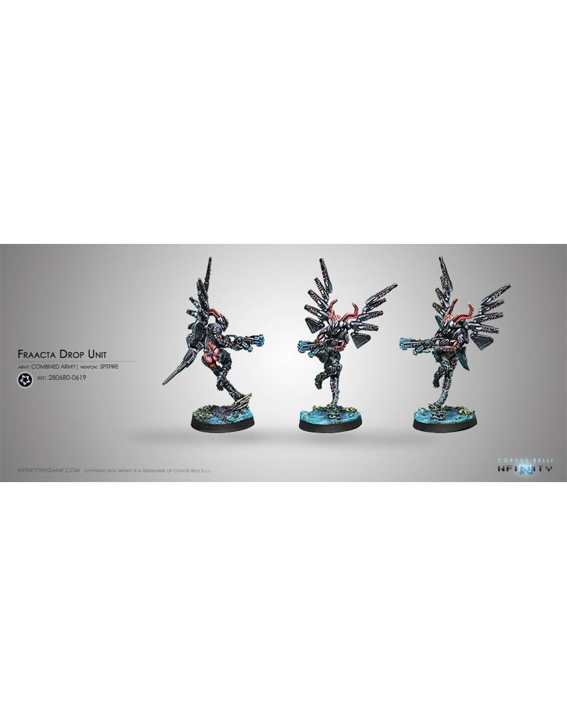 Corvus Belli Combined Army Fraacta Drop Unit (Spitfire) Blister Pack