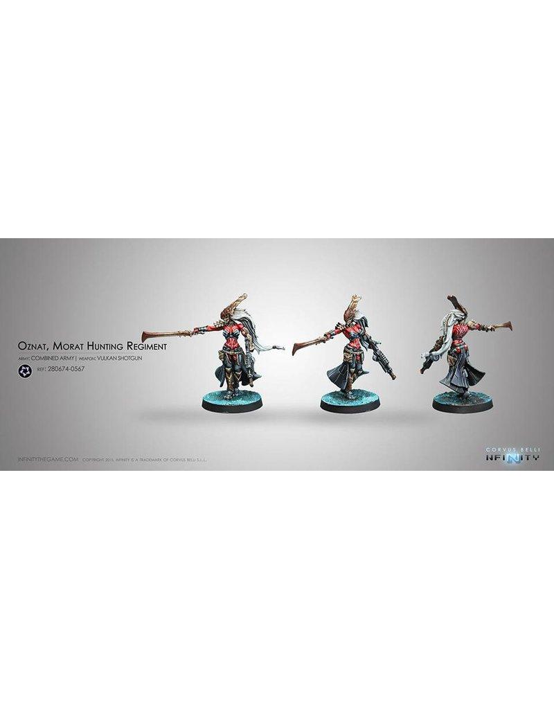 Corvus Belli Combined Army Oznat, Morat Hunting Regiment (Vulkan Shotgun) Blister Pack