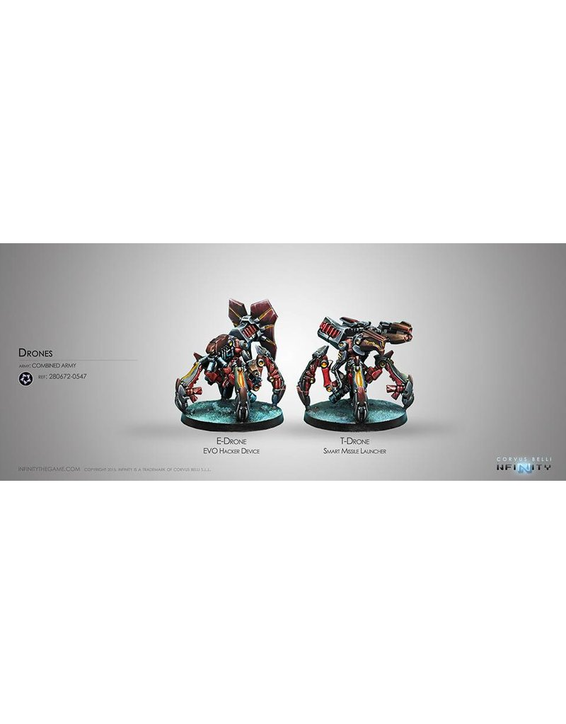 Corvus Belli Combined Army Drone Remotes Box Set
