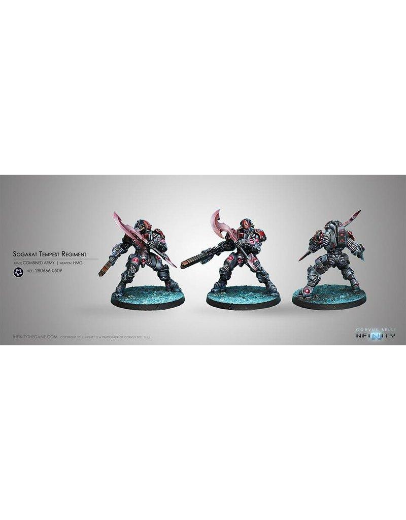 Corvus Belli Combined Army Sogarat (HMG) Blister Pack