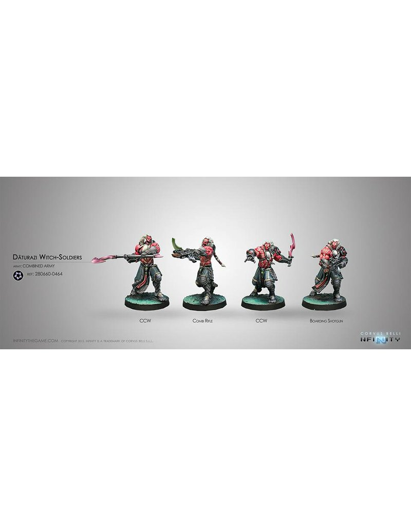 Corvus Belli Combined Army Daturazi Witch-Soldiers Box Set