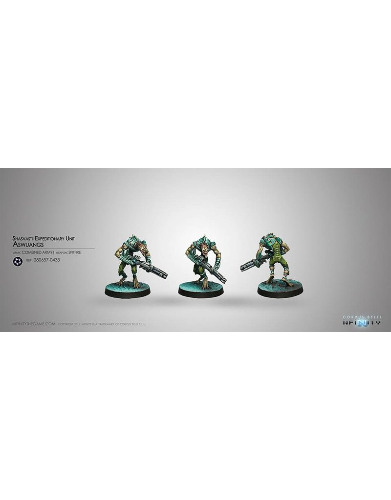 Corvus Belli Combined Army Shasvastii Expeditionary Unit Aswang (Spitfire) Blister Pack