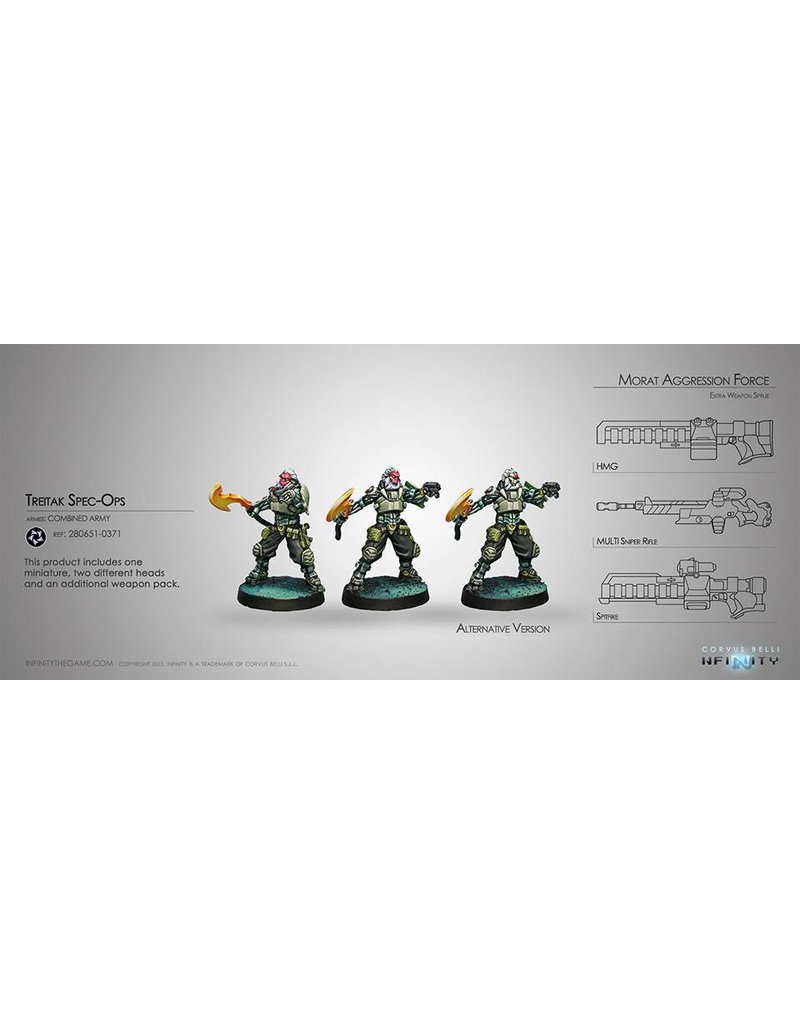 Corvus Belli Combined Army Treitak Spec-Ops Blister Pack