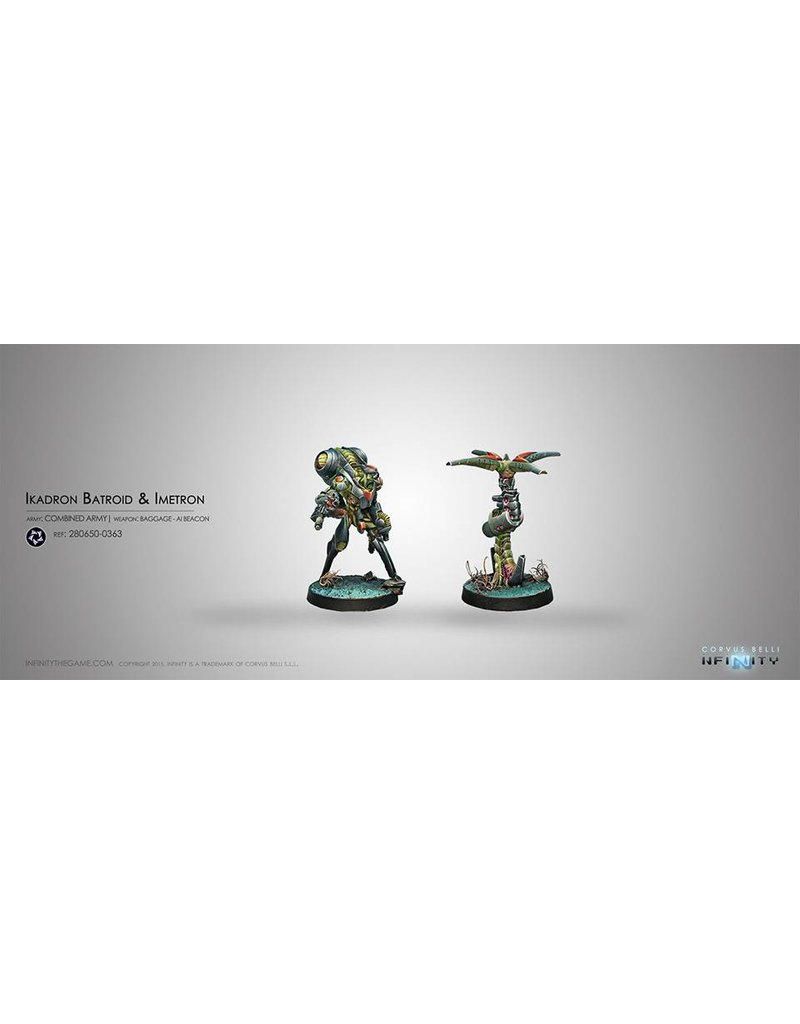 Corvus Belli Combined Army Ikadron Batdroids & Imetron Box Set