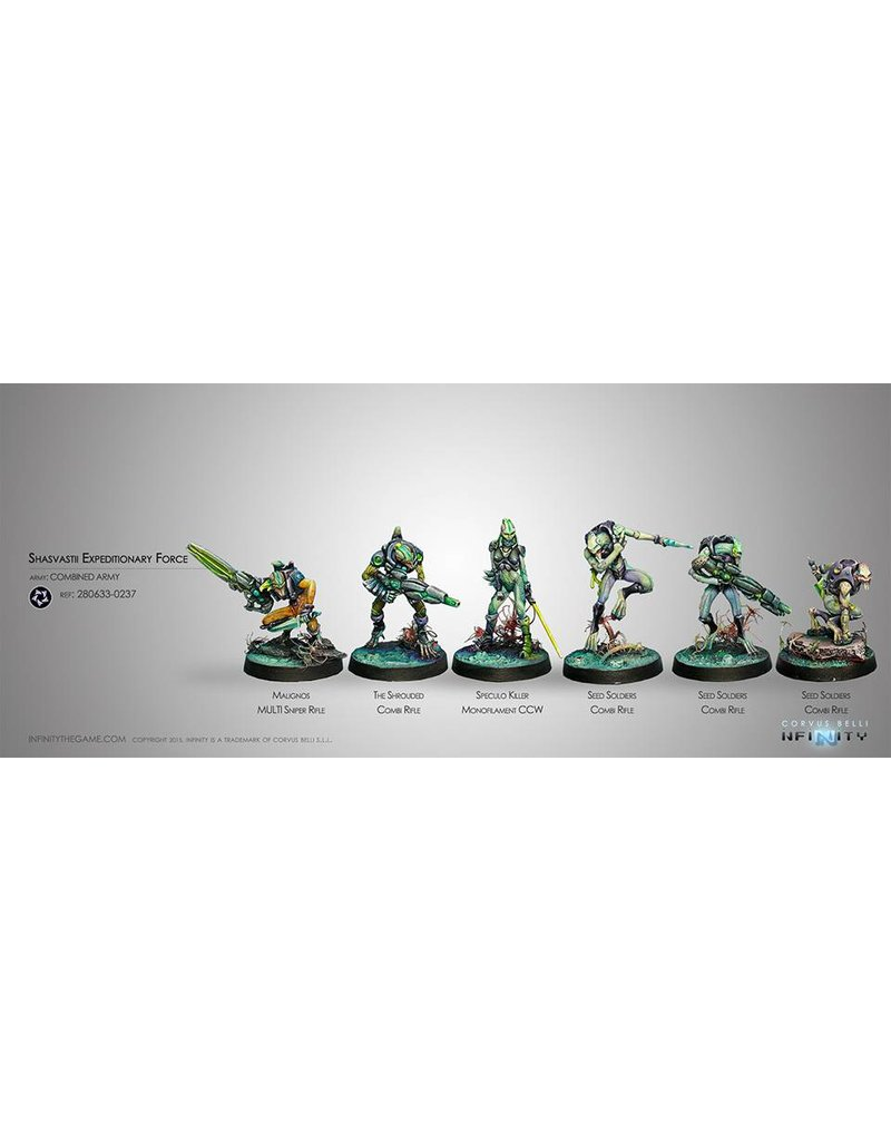 Corvus Belli Combined Army Shasvastii Expeditionary Force (Sectorial Starter Pack) Box Set