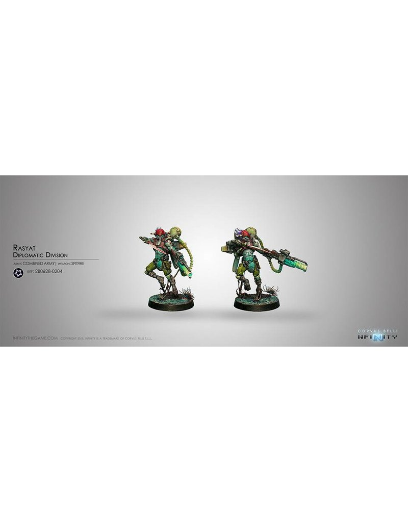 Corvus Belli Combined Army Rasyat (Spitfire) Blister Pack