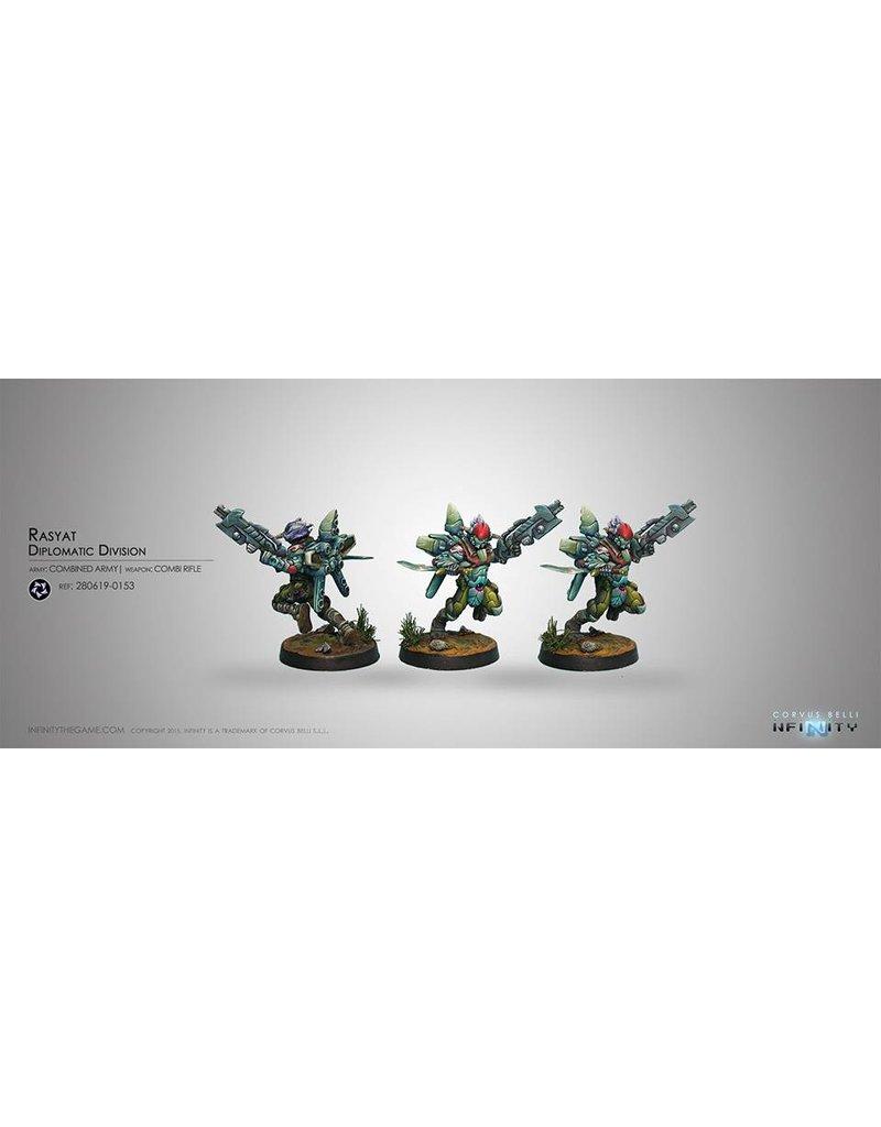 Corvus Belli Combined Army Rasyat (Combi Rifle) Blister Pack