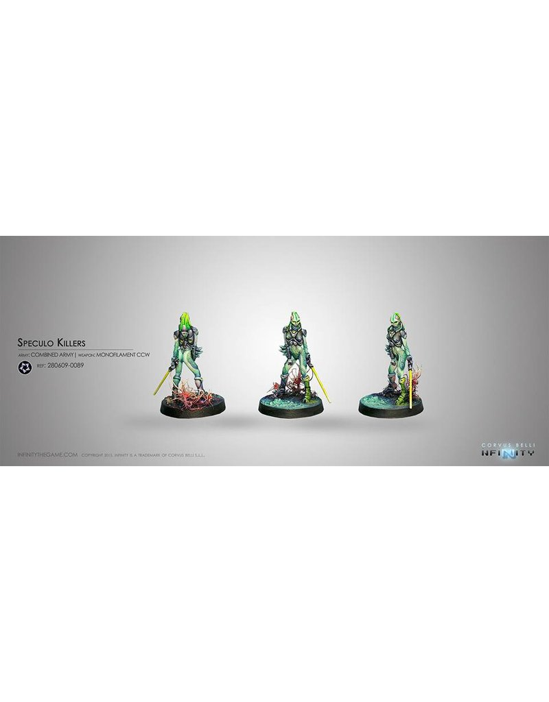 Corvus Belli Combined Army Speculo Killer (Monofilament CCW, Combi Rifle) Blister Pack