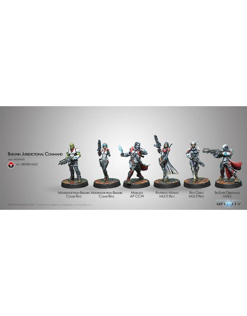 Corvus Belli Nomads Bakunin Jurisdictional Command (Sectorial Starter Pack) Box Set