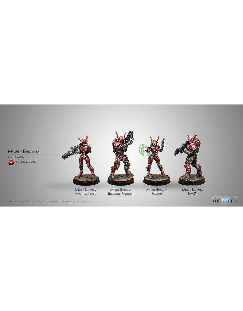 Corvus Belli Nomads Mobile Brigada Box Set
