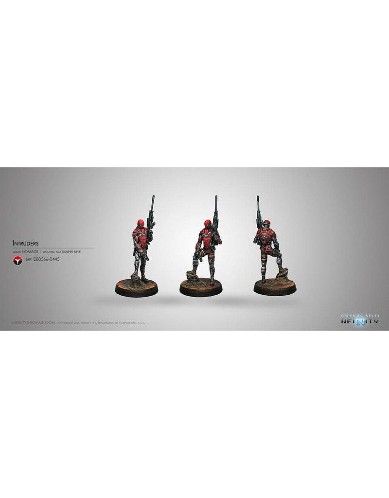 Corvus Belli Nomads Intruder, Corregidor Assault Commando (MULTI Sniper) Blister Pack