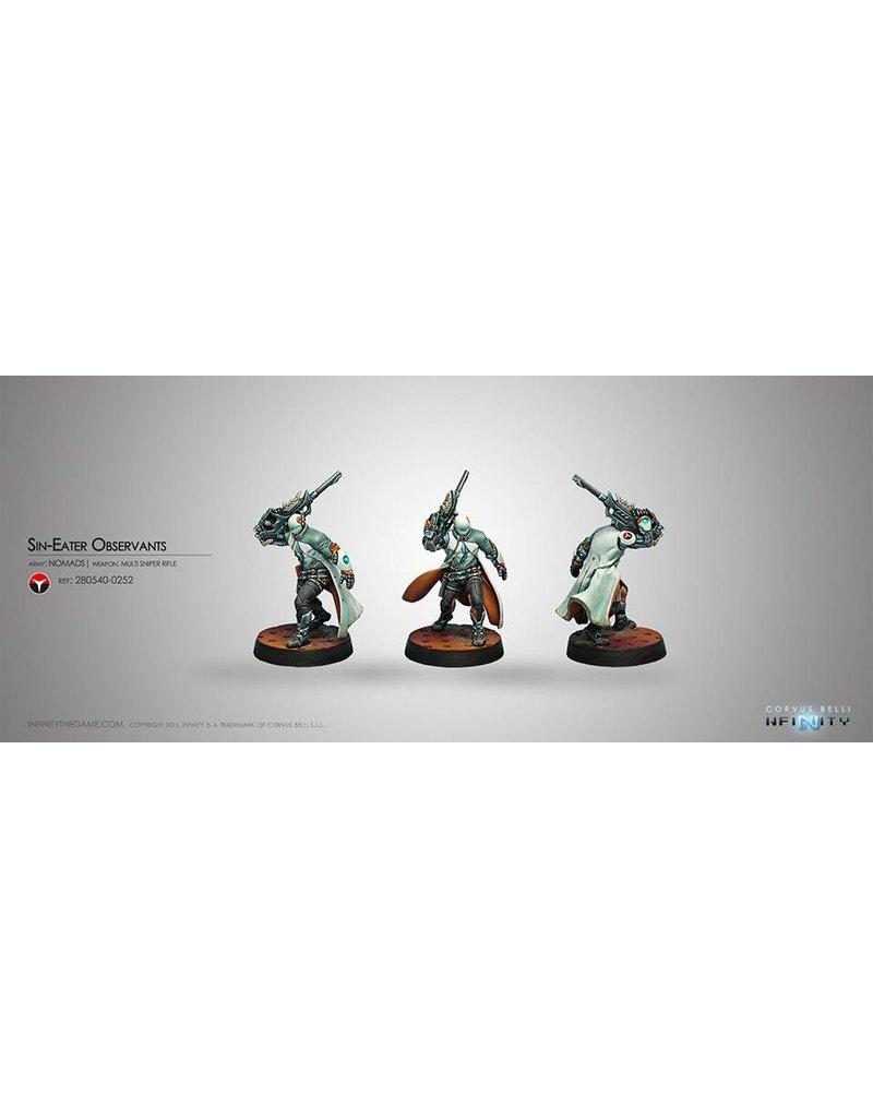 Corvus Belli Nomads Sin-Eater Observants (Sniper) Blister Pack
