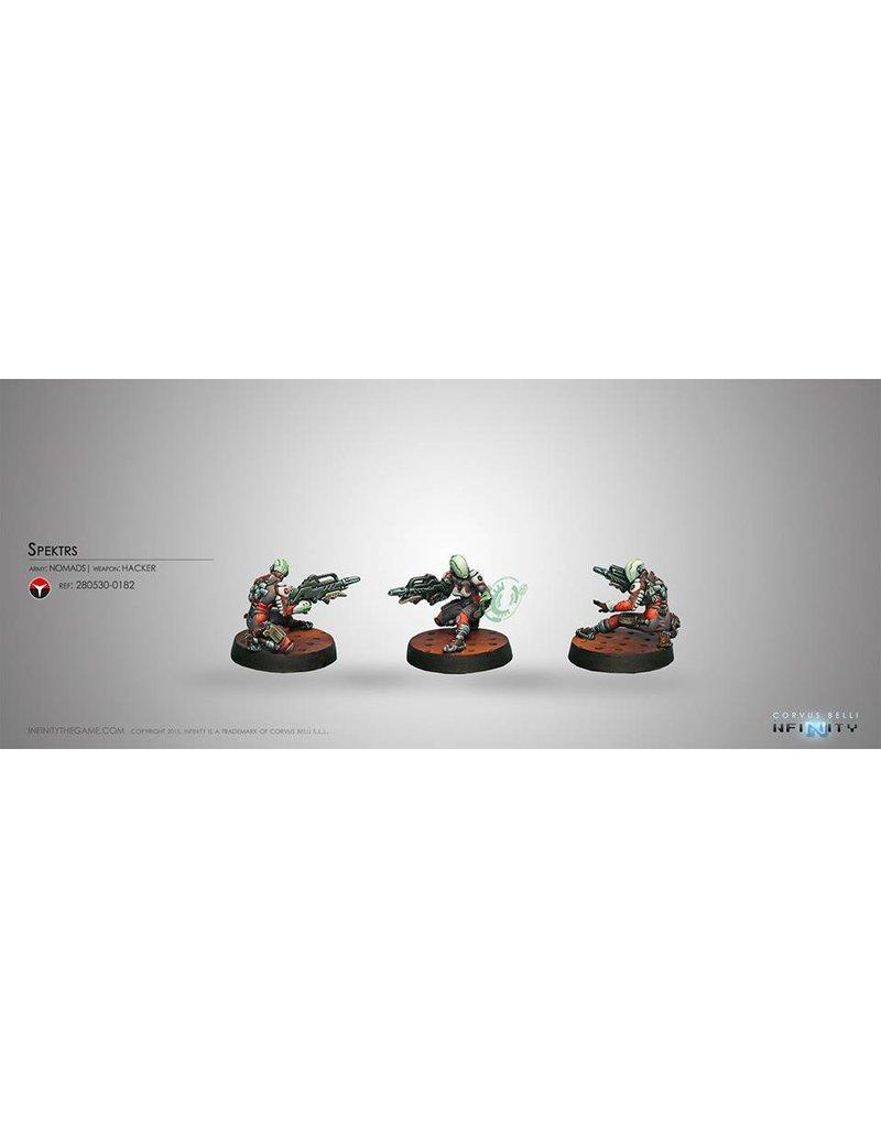 Corvus Belli Nomads Spektrs (Hacker) Blister Pack