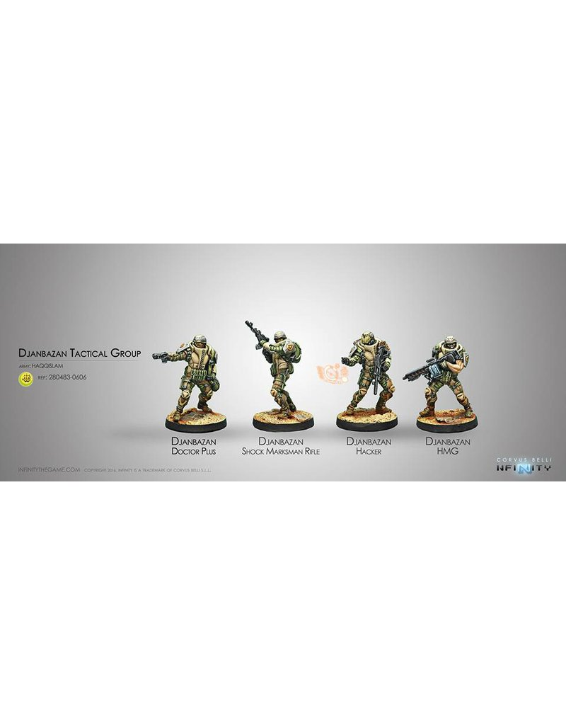 Corvus Belli Haqqislam Djanbazan Tactical Group Box Set