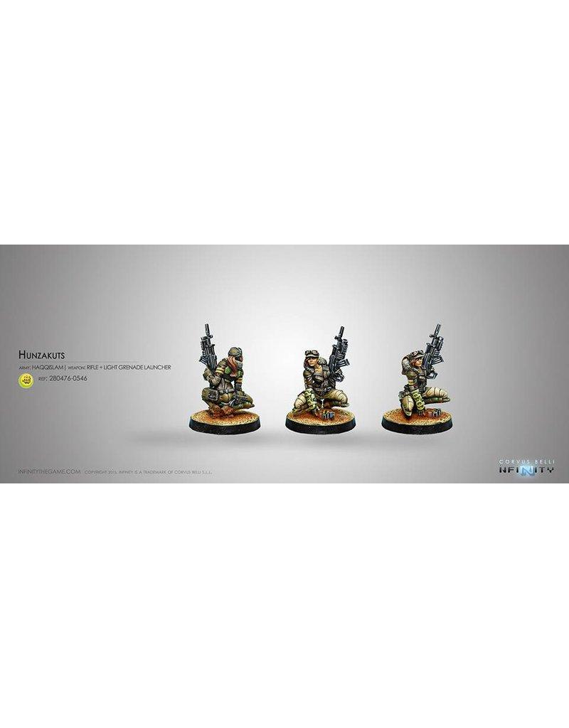 Corvus Belli Haqqislam Hunzakuts (Rifle+Light Grenade Launcher) Blister Pack