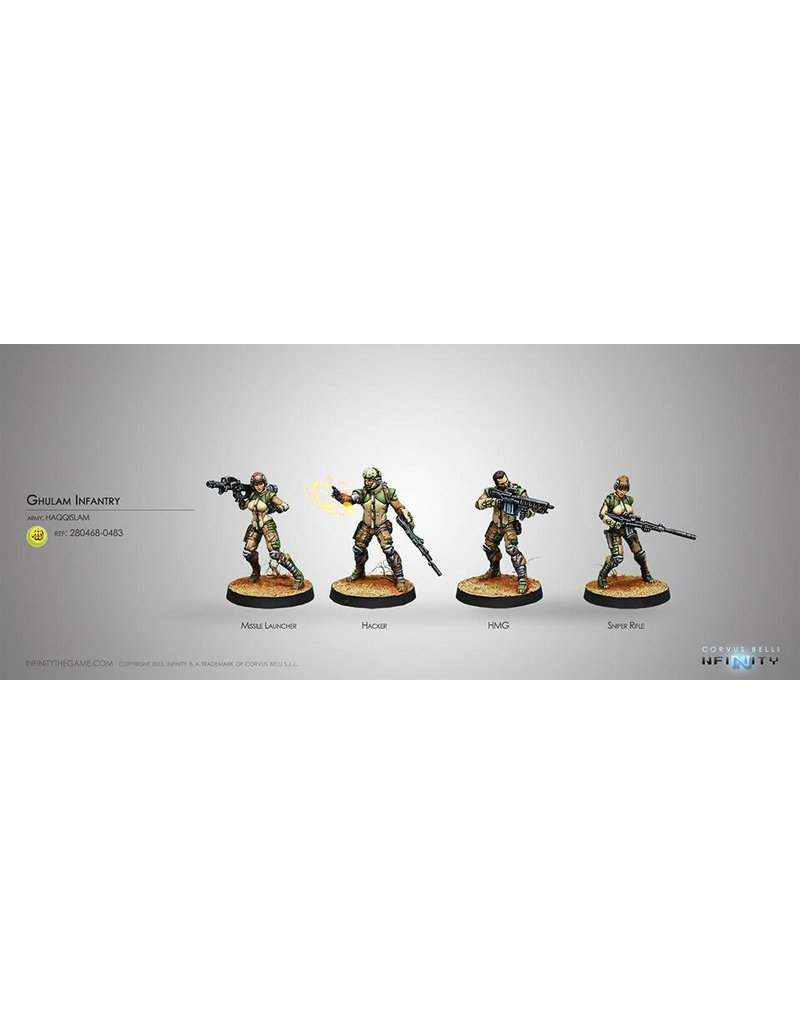 Corvus Belli Haqqislam Ghulam Infantry Box Set