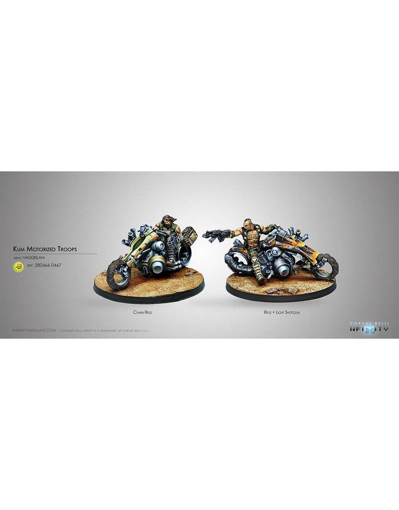 Corvus Belli Haqqislam Kum Motorized Troops Box Set