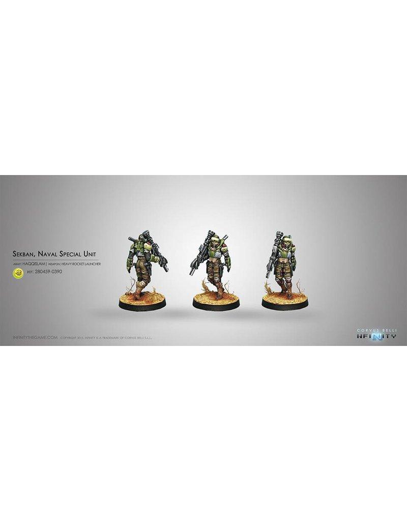 Corvus Belli Haqqislam Sekban. Special Naval Unit (Heavy Rocket Launcher) Blister Pack