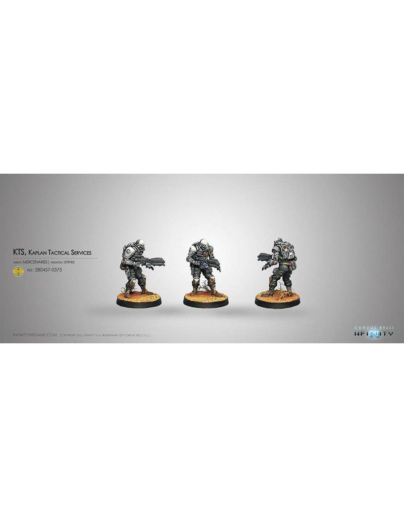 Corvus Belli Haqqislam KTS, Kaplan Tactical Services (Spitfire) Blister Pack