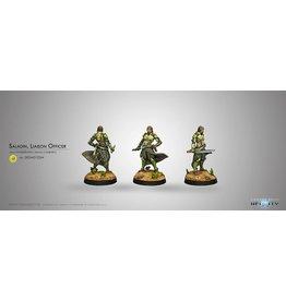 Corvus Belli Saladin, Liaison Officer (Combi Rifle)