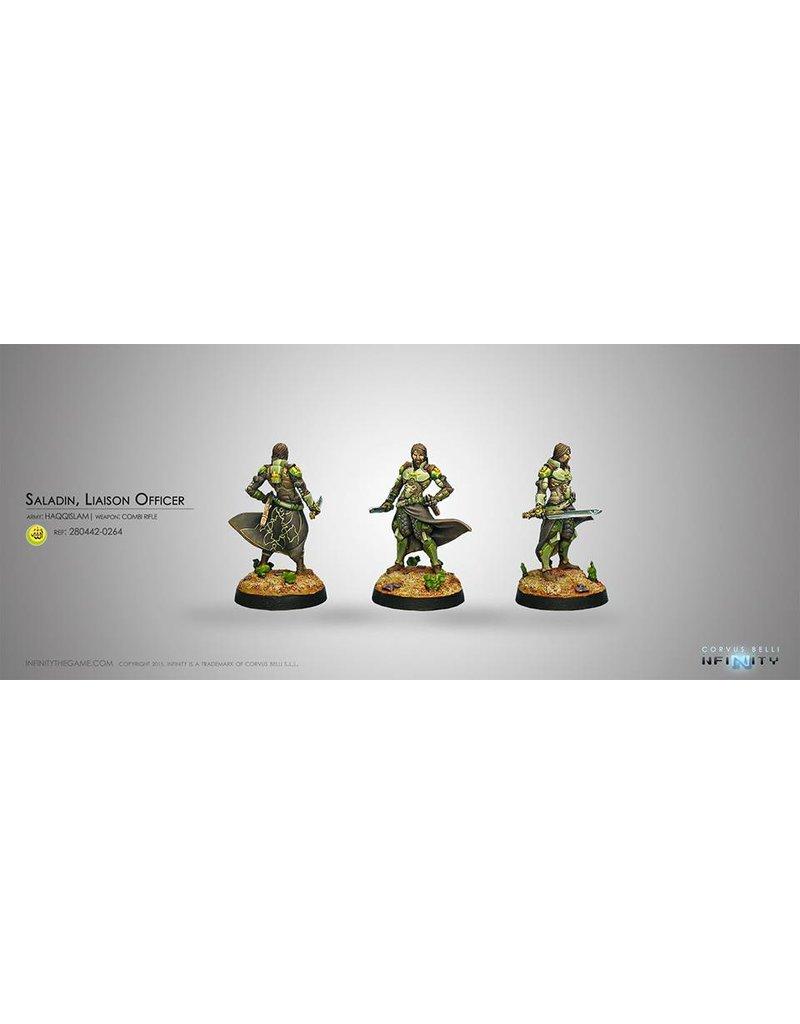 Corvus Belli Haqqislam Saladin, Liaison Officer (Combi Rifle)  Blister Pack