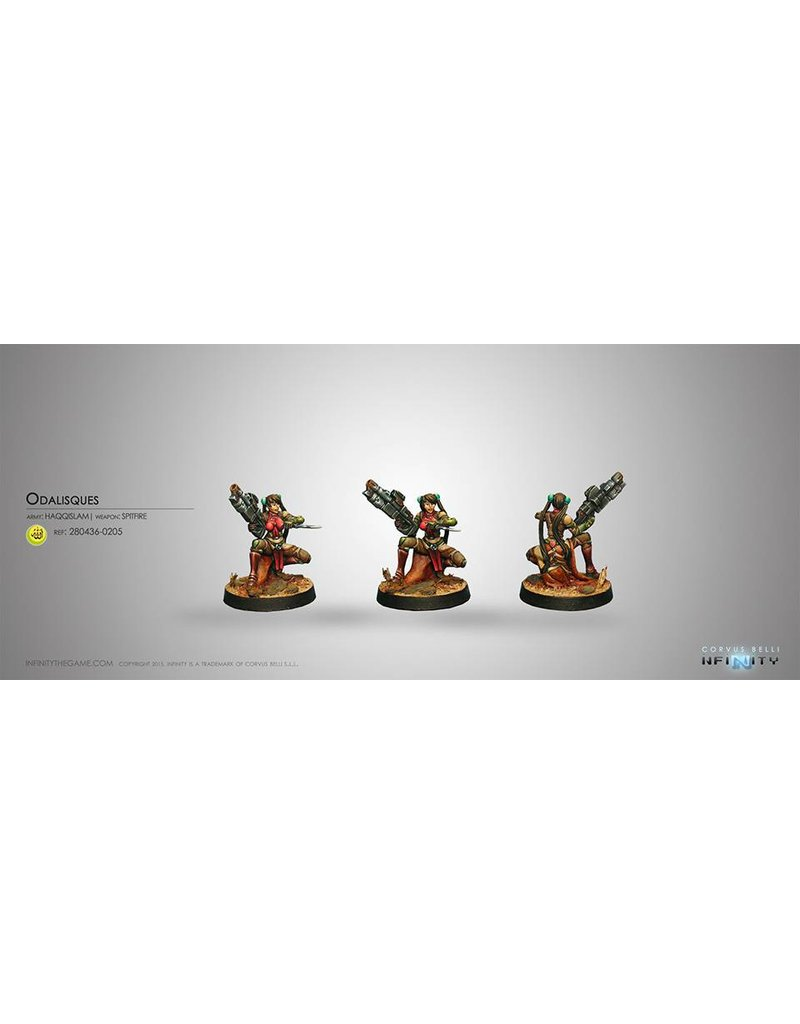 Corvus Belli Haqqislam Odalisques (Spitfire) Blister Pack