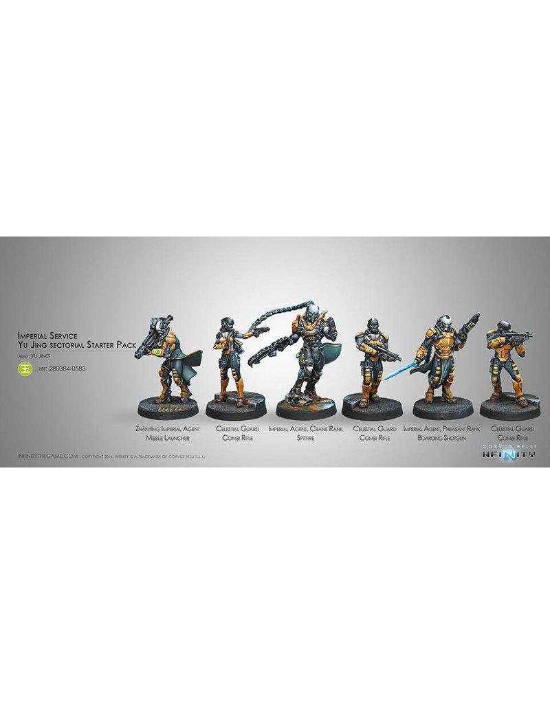 Corvus Belli Yu Jing Imperial Service (Sectorial Starter Pack) Box Set