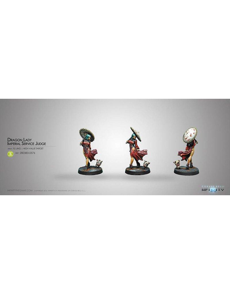 Corvus Belli Yu Jing Dragon Lady, Imperial Service Judge  Blister Pack