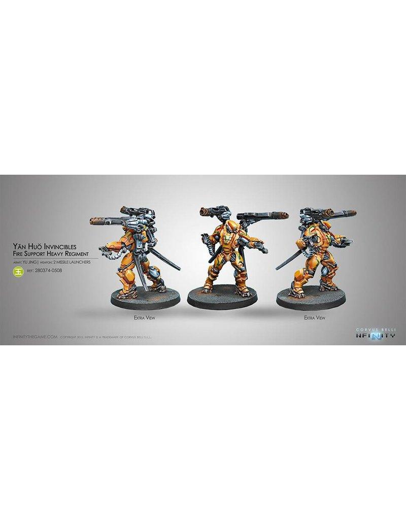 Corvus Belli Yu Jing Yan Huo Invincibles (2 Missile Launchers) Blister Pack