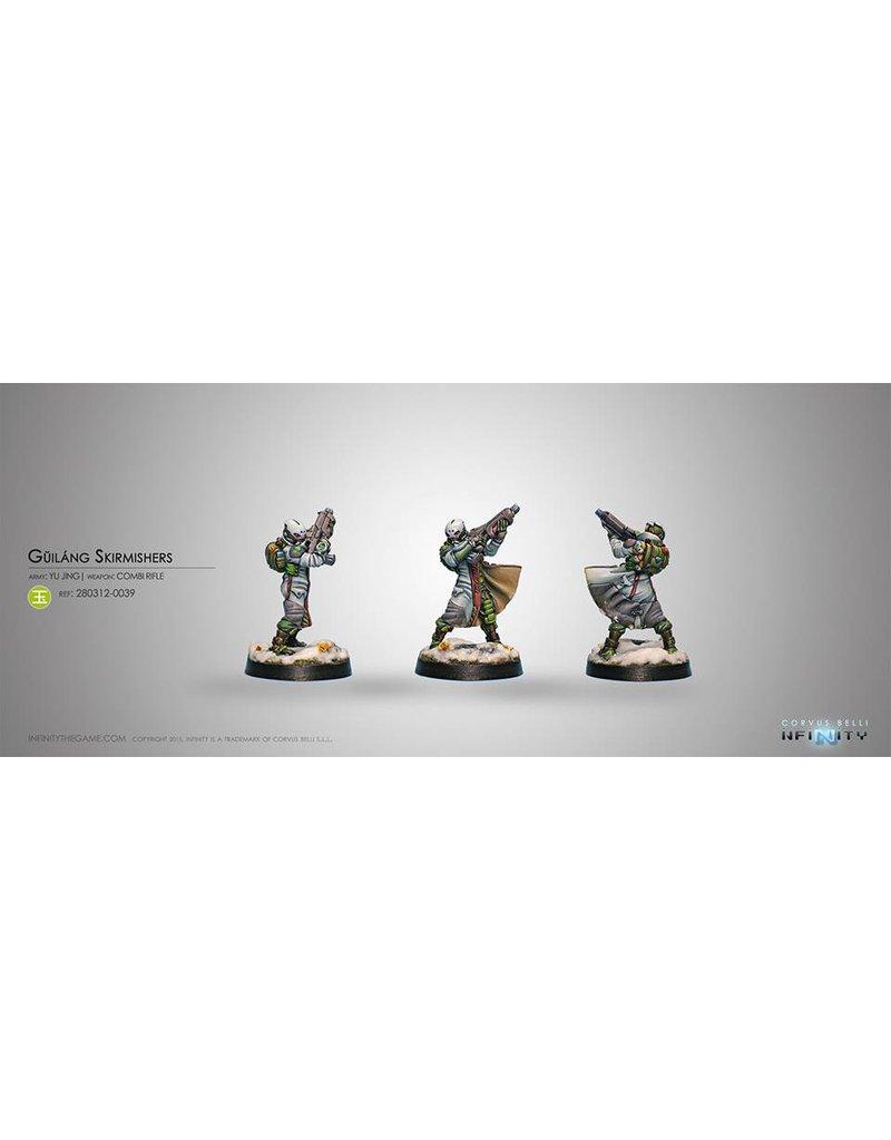 Corvus Belli Yu Jing Guilang (Ghost Wolves) (Combi Rifle)Blister Pack