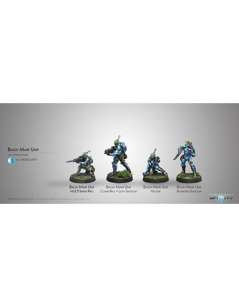 Corvus Belli Panoceania Bagh-Mari UnitBox Set