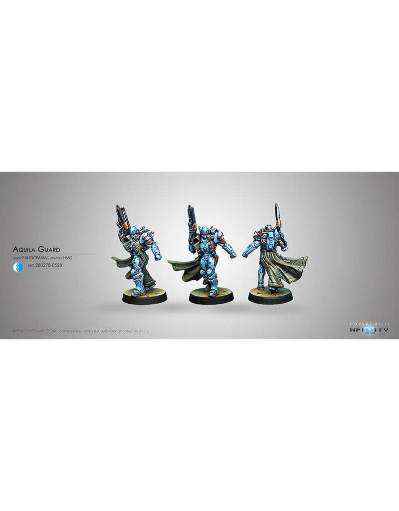 Corvus Belli Panoceania Guardia Aquila (HMG) Blister Pack