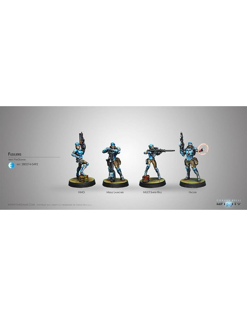 Corvus Belli Panoceania Fusiliers Box Set