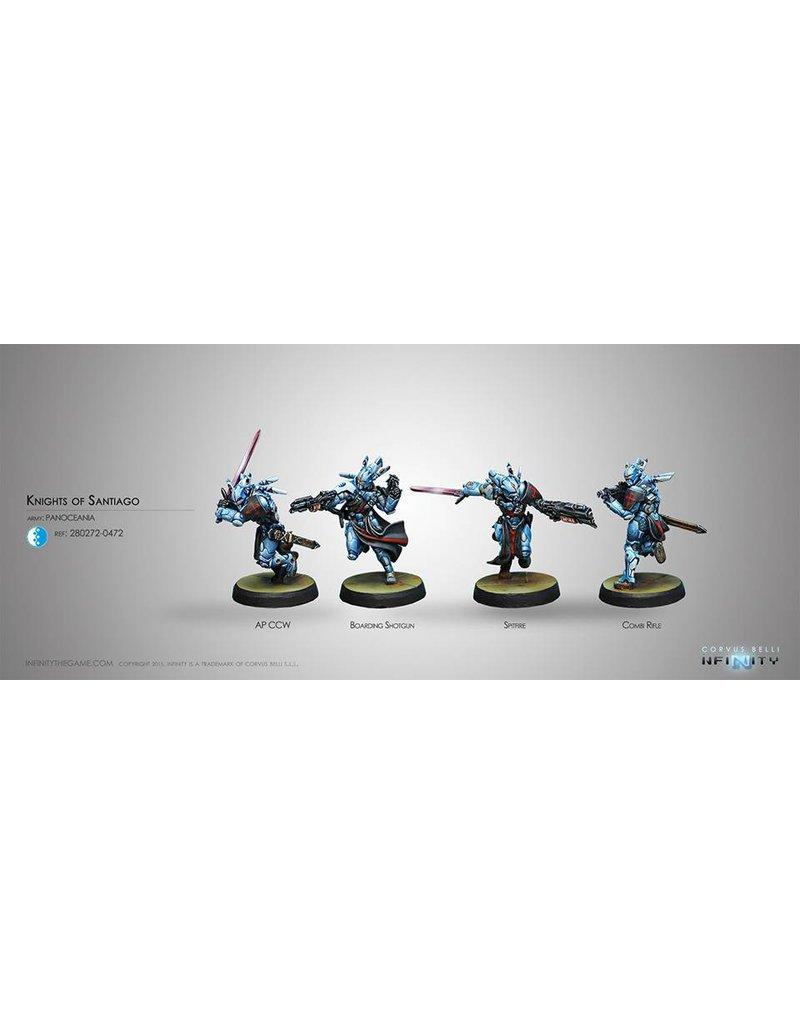 Corvus Belli Panoceania Knights of Santiago Box Set