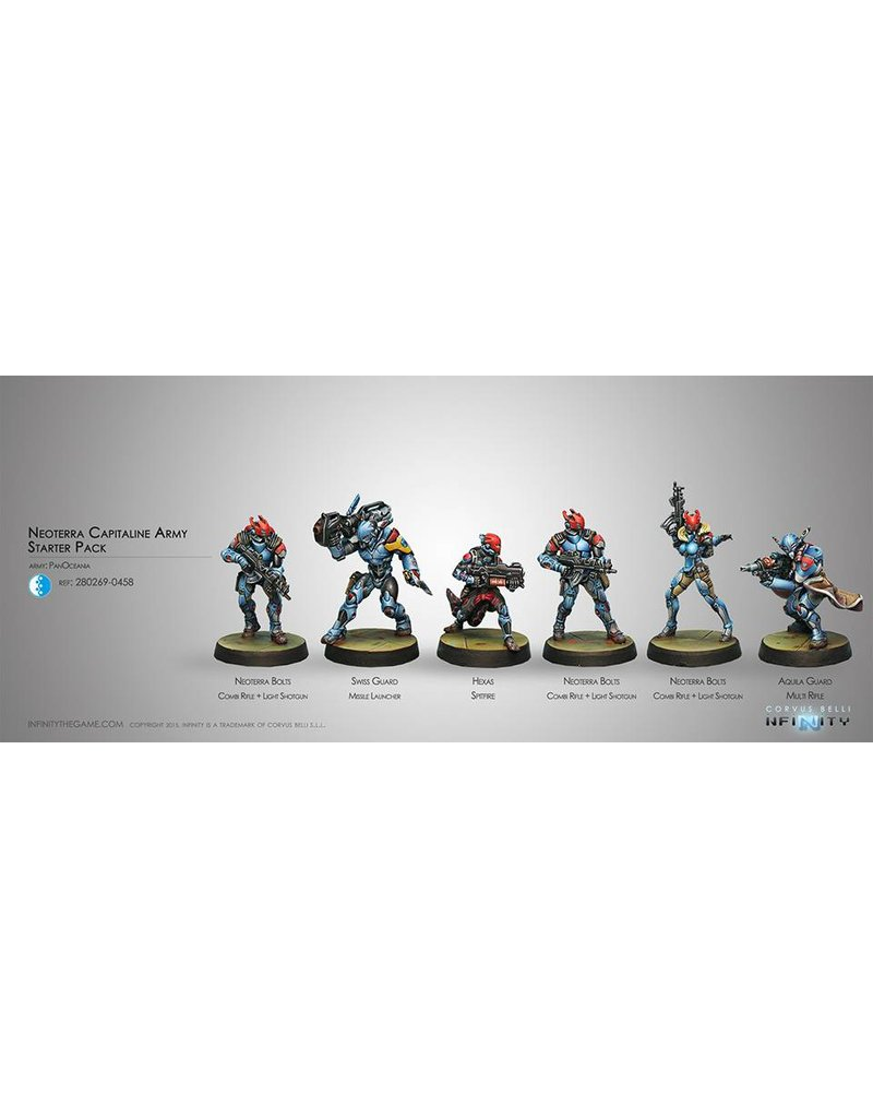 Corvus Belli Panoceania Neoterran Capitaline Army (PanOceania Sectorial Starter Pack) Box Set