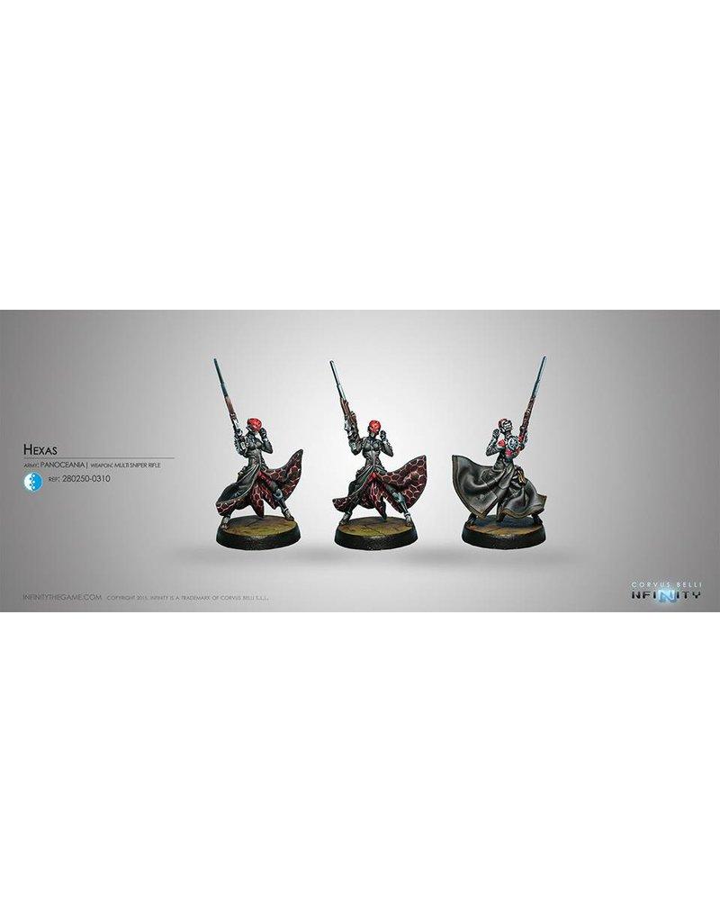 Corvus Belli Panoceania Hexas (MULTI Sniper) Blister Pack