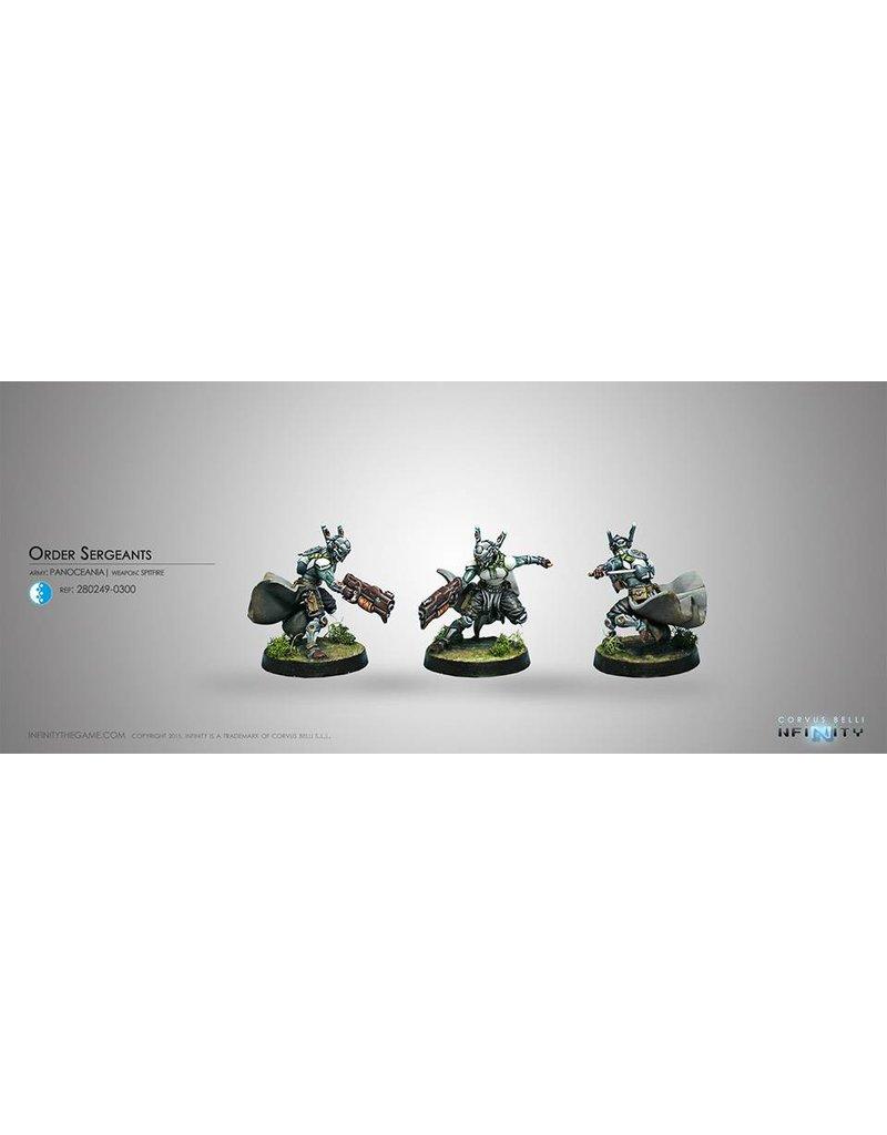 Corvus Belli Panoceania Order Sergeants (Spitfire) Blister Pack