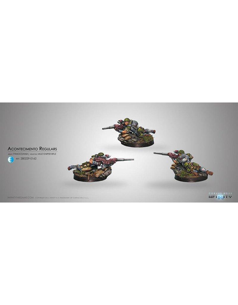 Corvus Belli Panoceania Acontecimento Regulars (Sniper) Blister Pack